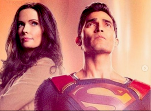 'SUPERMAN AND LOIS' – BTS IMAGE OF THE KENT FAMILY