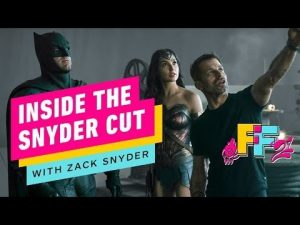 IGN: ZACK SNYDER – INSIDE THE SNYDER CUT VIDEO