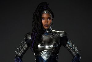 HBO MAX: BLACKFIRE GETS HER WARRIOR ARMOR IN 'TITANS' 3rd SEASON