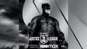 ZACK SNYDER'S JUSTICE LEAGUE: BATMAN POSTER & PROMO