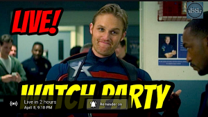 'THE FALCON & THE WINTER SOLDIER' PRE-PARTY/WATCH PARTY