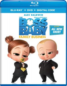 Boss Baby Family Business Blu-ray
